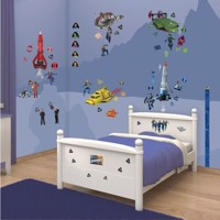 Walltastic Wall stickers Thunderbirds