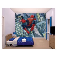 Walltastic Wallpaper Spectacular Spiderman Poster / wallsticker