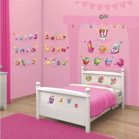 Walltastic Wall stickers Shopkins