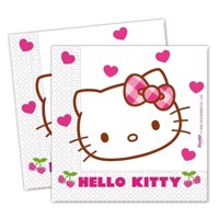 Hello Kitty napkins, 20pcs.