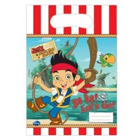 Jake and the never land Pirates Portion pouches, 6pcs.