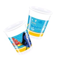 Finding Dory cups, 8pcs.