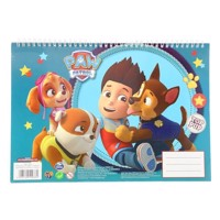 Paw Patrol sketchbook A4 with Stickers