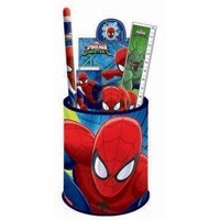 Spiderman Desk set, 6dlg.