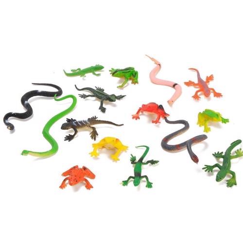 Reptiles, 15pc.