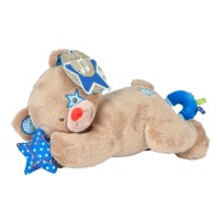 LOVE Musical Bear - Blue, 25cm