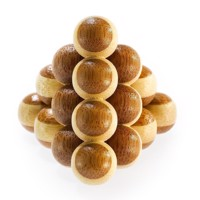3D Bamboo Brain puzzle Cannon Balls *