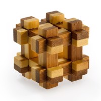 3D Bamboo Brain puzzle Prison House ****