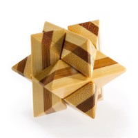 3D Bamboo Brain puzzle superstar **
