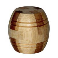 3D Bamboo Brain puzzle Barrel ***