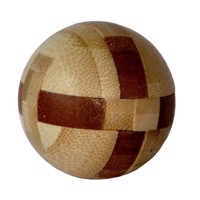 3D Bamboo Brain puzzle Ball ***