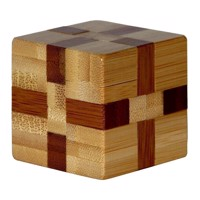 3D Bamboo Brain puzzle Cube ***