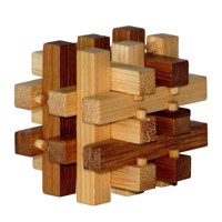 3D Bamboo Brain puzzle Slide ****