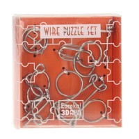 First Wire Puzzle Set-Orange