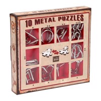 Breinpuzzelset red, 10pcs.