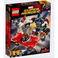 Lego 76077 Iron Man: Detroit Steels angreb