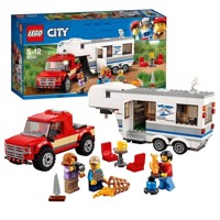 LEGO City Great Vehicles - Pickup och husvagn 60182