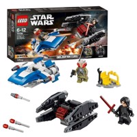 LEGO Star Wars - A-Wing vs. TIE Silencer Microfighters 75196