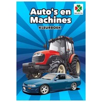Color Books Cars and Machines
