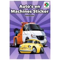 Cars and Machines Sticker Book