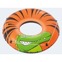 Game ring with handle 118cm river crocodile