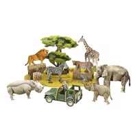 3D Puzzle African Wildlife - National Geographic