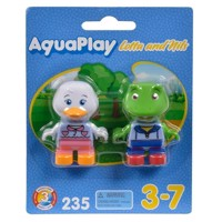 Aquaplay 235, figurer til vandbane, and og frø
