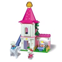Unico Hello Kitty Castle 80 PCs.