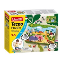 Quercetti Tecno Puzzle Jungle