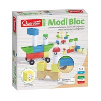Quercetti Modes wooden building blocks, 18st.
