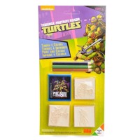 Print and color Ninja Turtles, 7dlg.