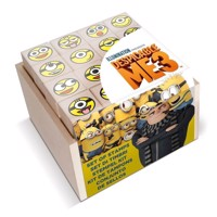 Wooden Stamp Set Despicable Me 3, 17dlg.