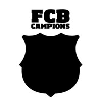 Wall sticker FC Barcelona Chalkboard