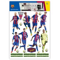 Wall Stickers FC Barcelona 16 Players
