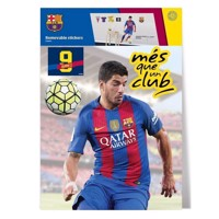Wall Sticker FC Barcelona SUAREZ