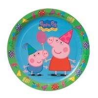 Peppa Pig signs, 8pcs.