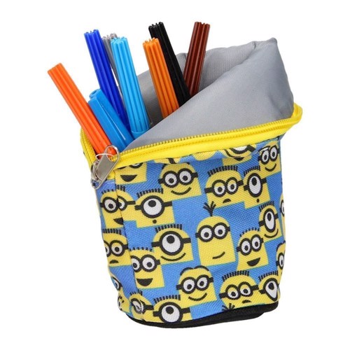 Minions Pouch and pencil holder in One