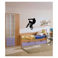 Wall sticker Bicycle cross