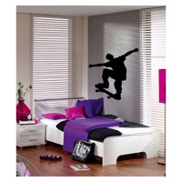 Wall sticker Skateboarder