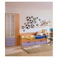Wall sticker Football, set of 14