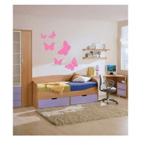 Wall sticker Butterflies, set of 6