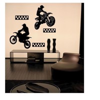 Wall stickers Motocross Riders