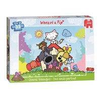 Woezel &Pip Puzzle-Everywhere boyfriends, 35st.