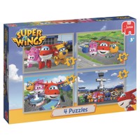 Super Wings Puzzle, 4in1