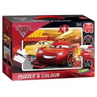 Cars 3 Puzzle & Color