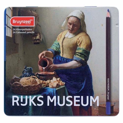 Bruynzeel Rijksmuseum Colored pencils, 24st.