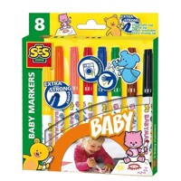 SES My first Baby Markers, 8pcs.