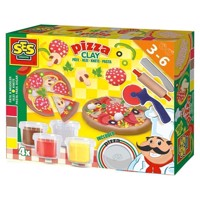 SES Clay Make Pizzas