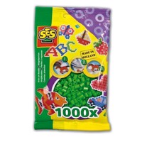 SES Ironing beads-Green, 1000pcs.