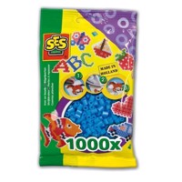 SES Ironing beads-blue, 1000pcs.